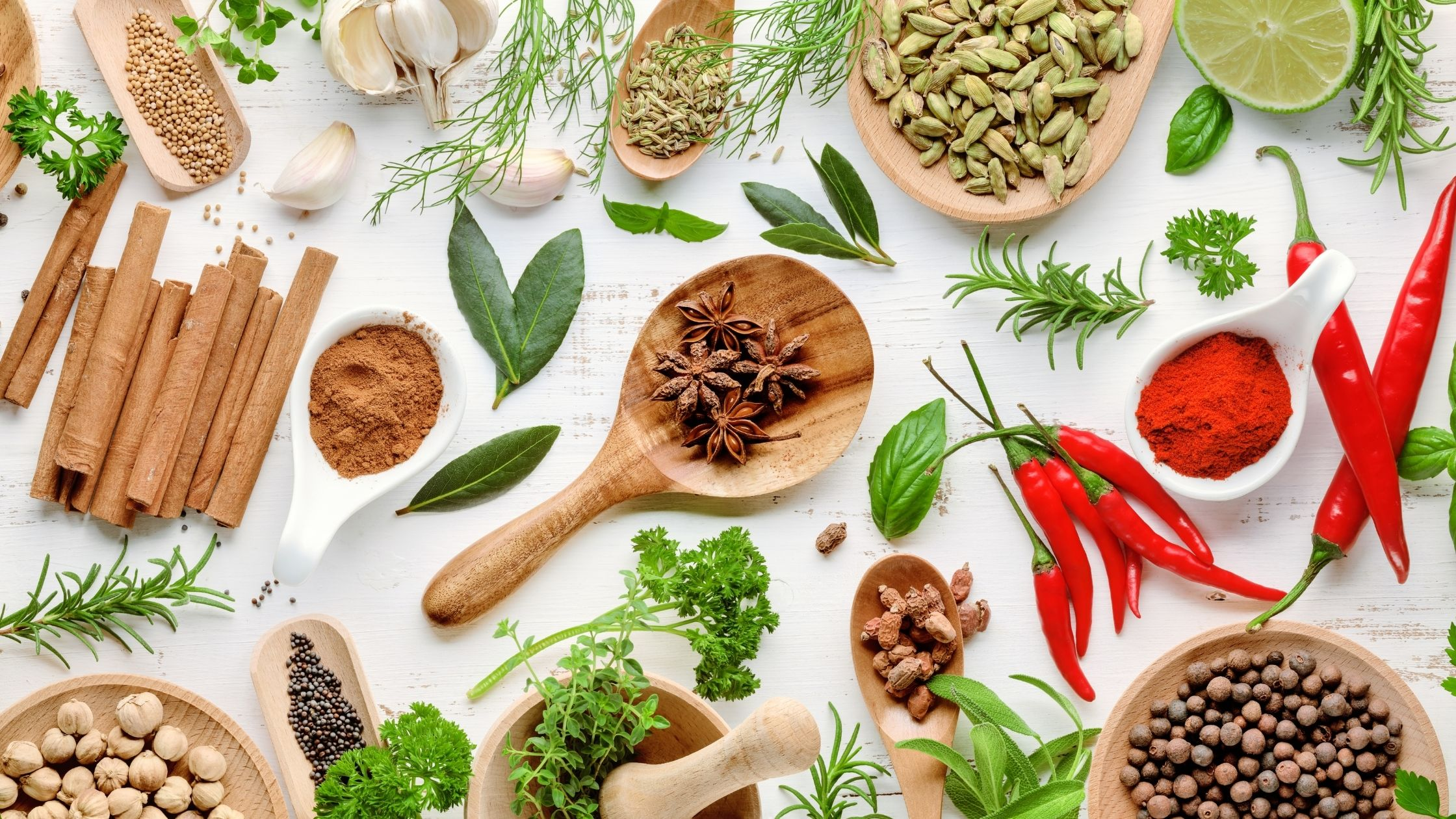 Proprietà e benefici delle spezie